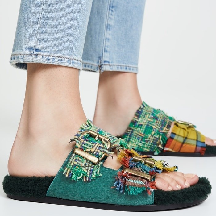 Frodo Baggins Double-Band Sandals