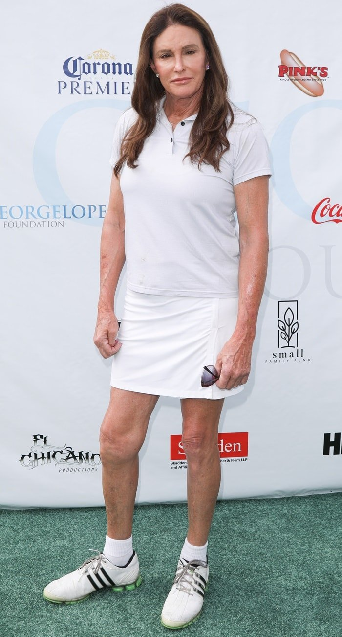 Caitlyn Jenner attends the 12th Annual George Lopez Celebrity Golf Classic