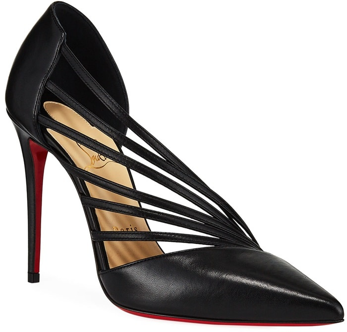 Antinorina Red Sole Pumps