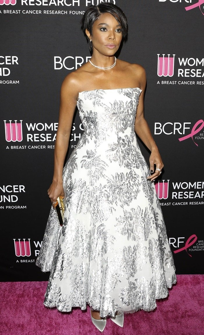 Gabrielle Union attends The Women's Cancer Research Fund's An Unforgettable Evening Benefit Gala
