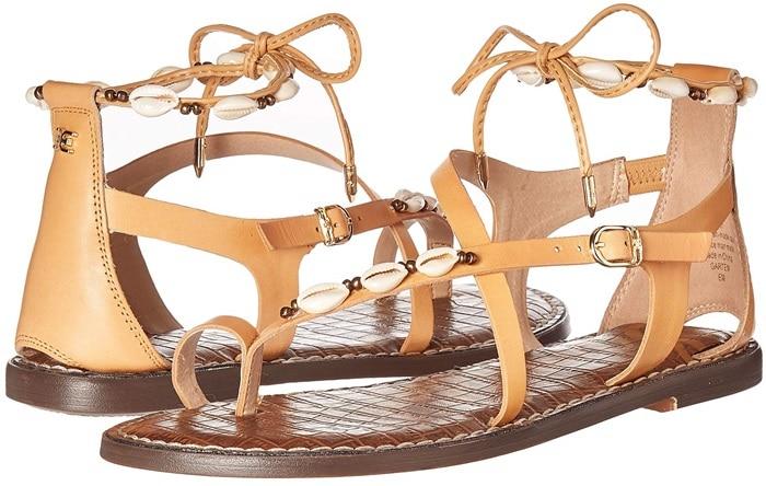 Garten Natural Leather Sandals
