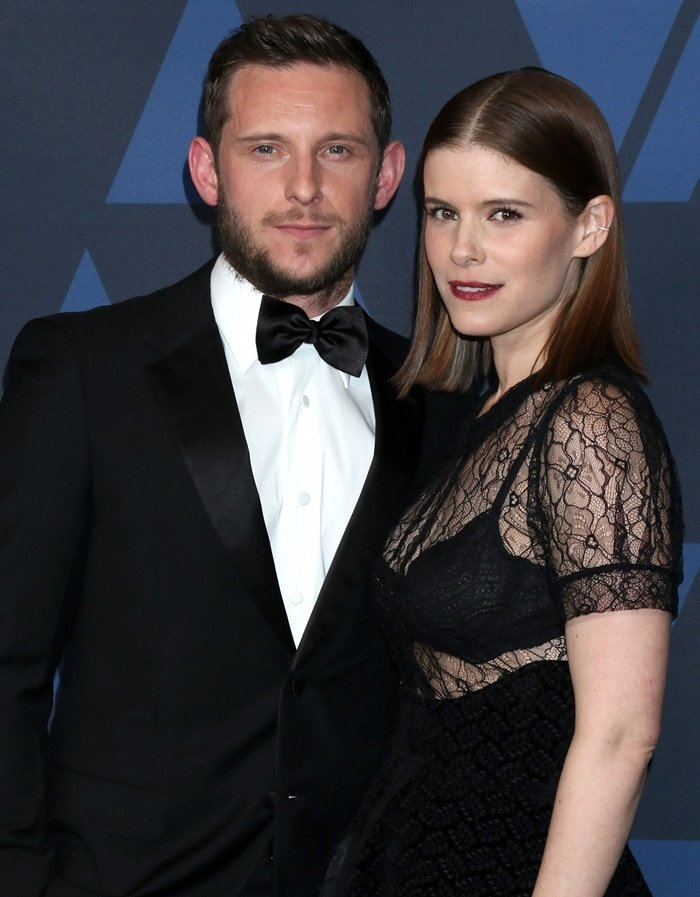 Jamie Bell and Kate Mara arrive at the Academy Of Motion Picture Arts And Sciences' 11th Annual Governors Awards
