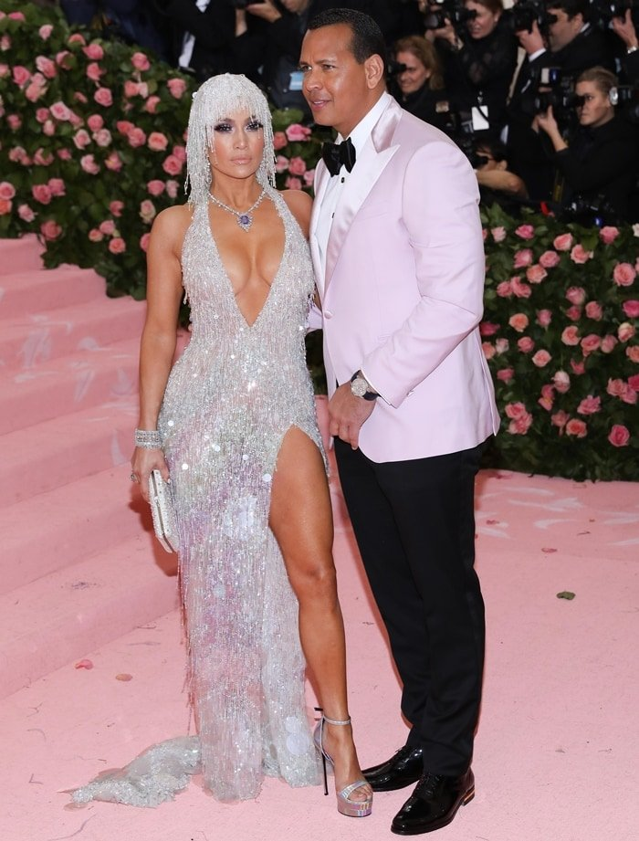 Jennifer Lopez was accompanied by her fiance Alex Rodriguez at the 2019 Met Gala