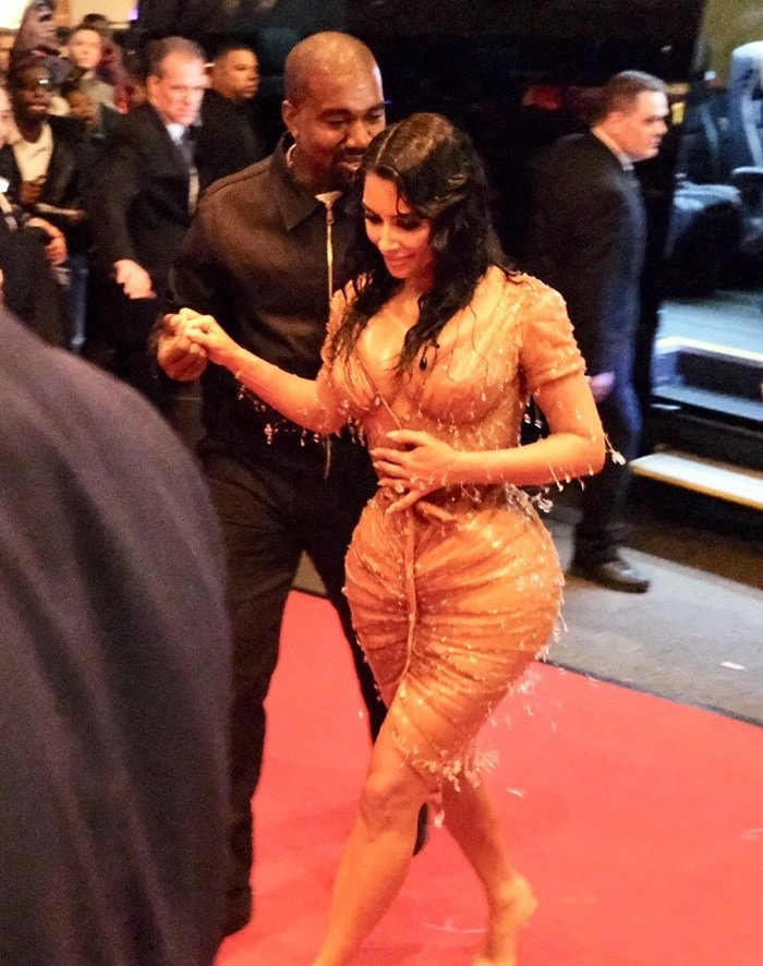 Kim Kardashian and Kanye West show up at The Mark Hotel, marketed as New York City's most boldly lavish hotel, after the Met Gala