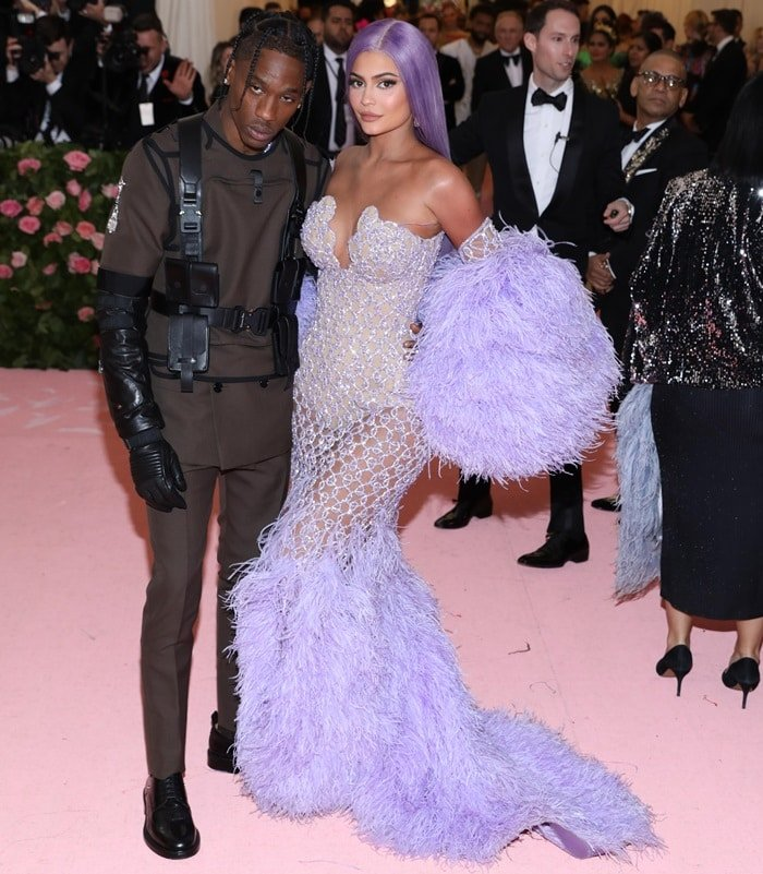 Kylie Jenner joined her rapper boyfriend Travis Scott at the 2019 Met Gala