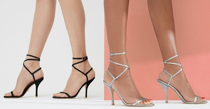 Stuart Weitzman's 'Merinda' sandals go with everything from jeans to evening gowns