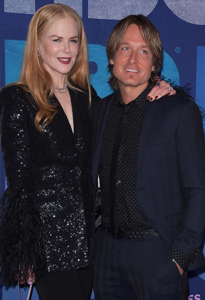 Nicole Kidman was joined by her husband, Keith Urban, at the premiere of Big Little Lies Season 2 in New York City on May 29, 2019