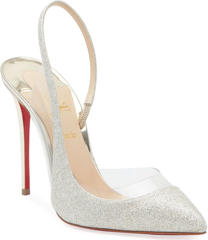 Optisexy Glitter Red Sole Pumps
