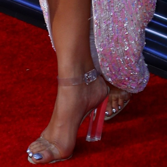 e53ae1a4537 Priyanka Chopra's Atrocious Kanye West Shoes at Billboard Music Awards