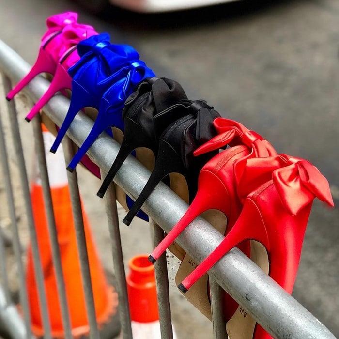SJP By Sarah Jessica Parker Lucille Bow-Embellished Pumps