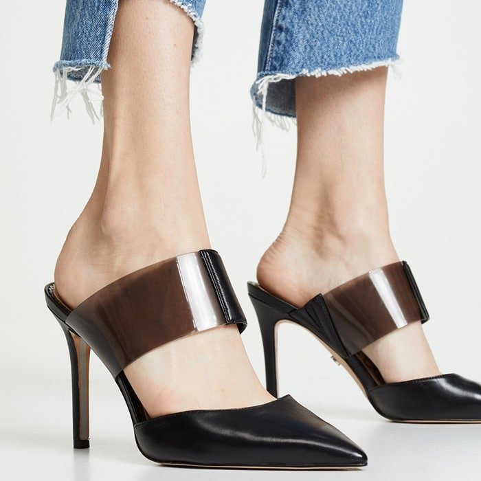 Ultimately edgy and sophisticated, the Sam Edelman Hope pumps