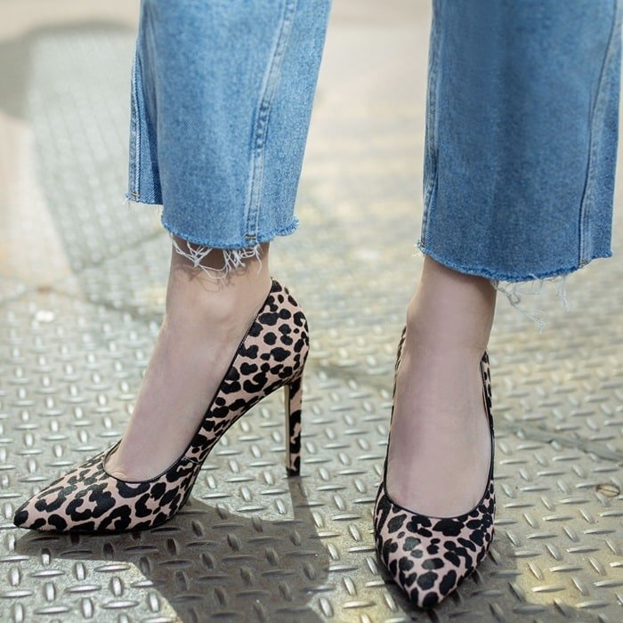 One of the best- selling pumps for spring and summer