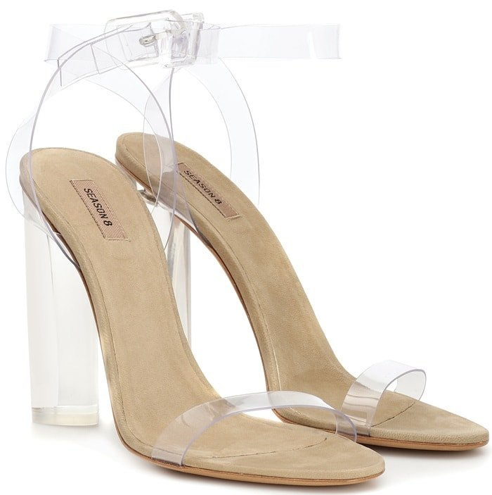 Yeezy Season 8 Transparent Sandals