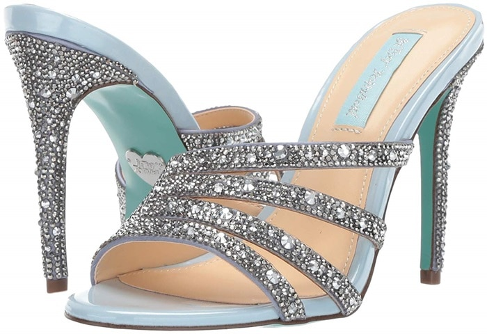 Add the right amount of sparkle to your look with these Riri heels
