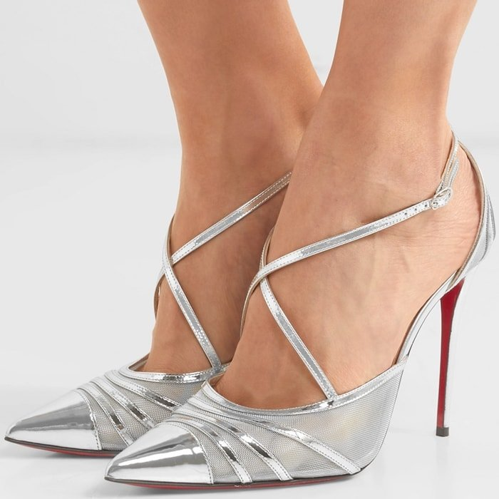 Christian Louboutin's 'Theodorella' pumps are perfect for parties and evening events