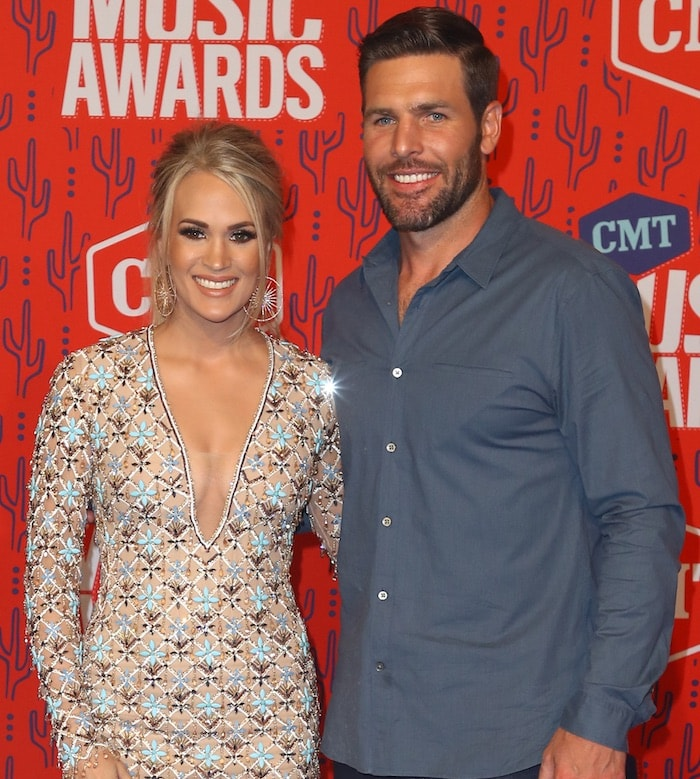 The athlete always by his wife's side year after year even at the 2019 CMT Music Awards
