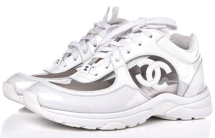 Chanel PVC Sneakers