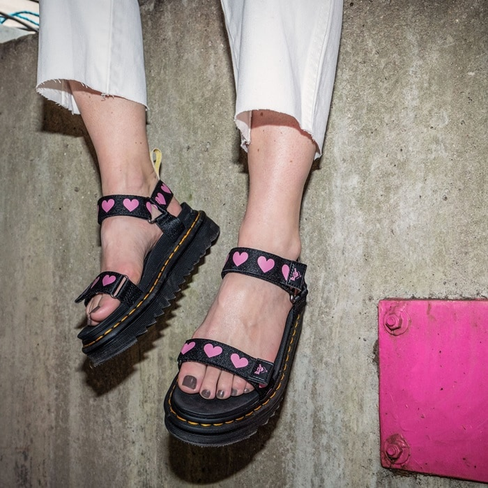Made from all vegan materials, this sandal packs all the Docs DNA and is built to be tougher than a typical sandal with a Goodyear-welted Ziggy sole