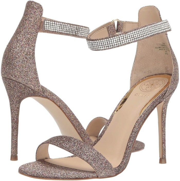 Gold Kahluy Stiletto Sandals