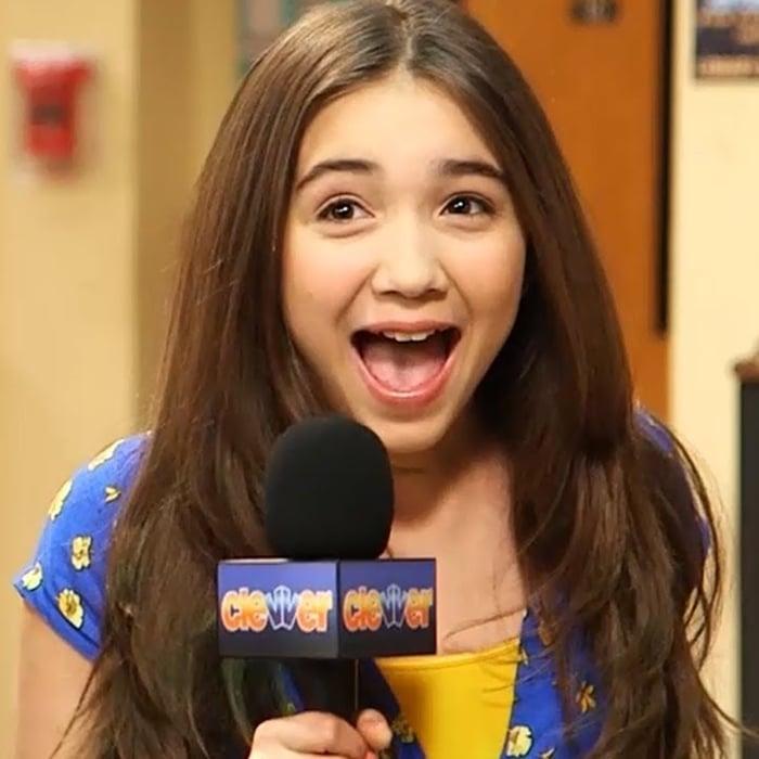 Rowan Blanchard was 11 when cast as Riley Matthews on the Disney Channel series Girl Meets World