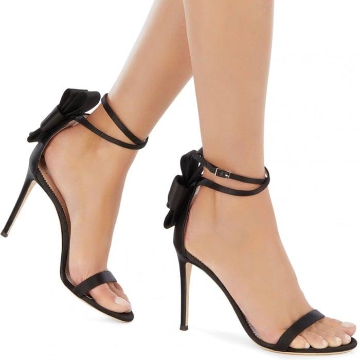 Marsai Martin Dresses Too Mature In Alina Bow Stiletto Sandals
