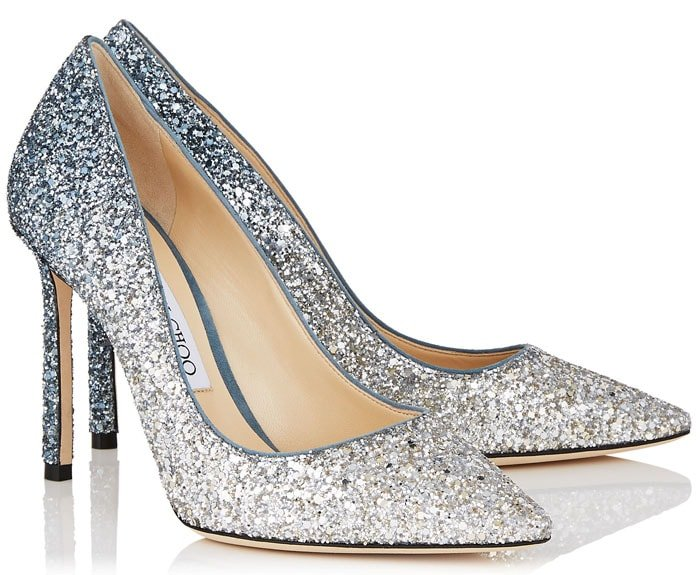 Jimmy Choo 'Romy' Glitter Dégradé Pumps