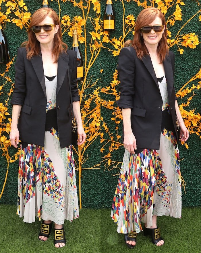 Julianne Moore attended the 12th Annual Veuve Clicquot Polo Classic