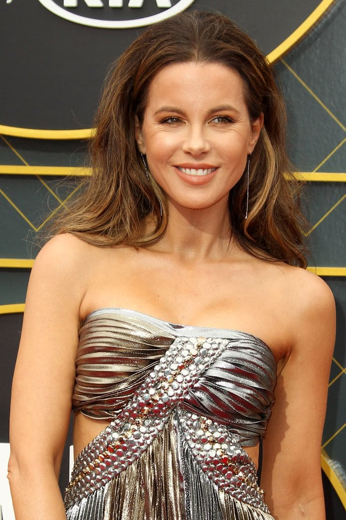 Kate Beckinsale with crow's feet