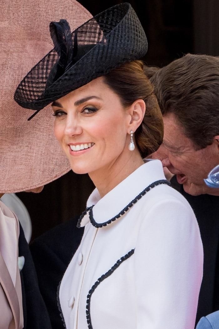 Kate Middleton's Sylvia Fletcher for Lock & Co. hat