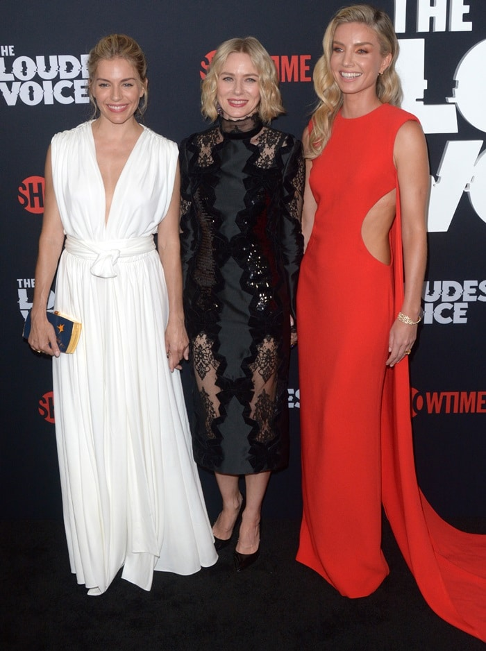 Sienna Miller, Naomi Watts, and Annabelle Wallis star in The Loudest Voice