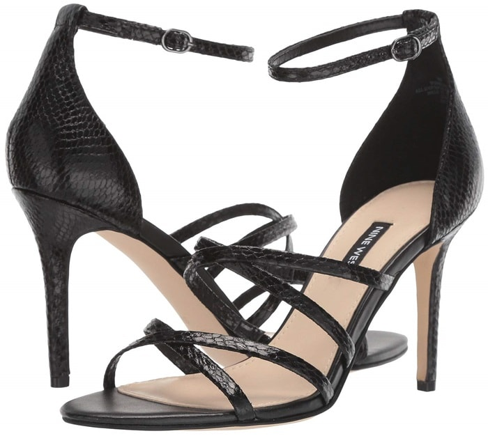 Dance the night away in this strappy Malina heeled sandal
