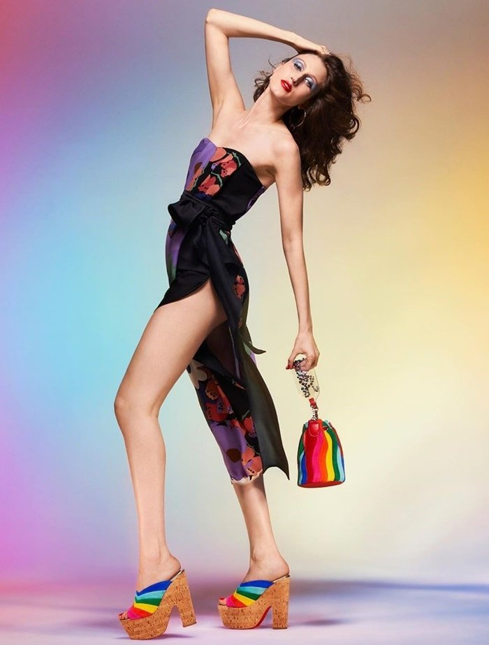 Rainbow on your feet, happiness on your mind, the O Sister style is the embodiment of Christian Louboutin's core values