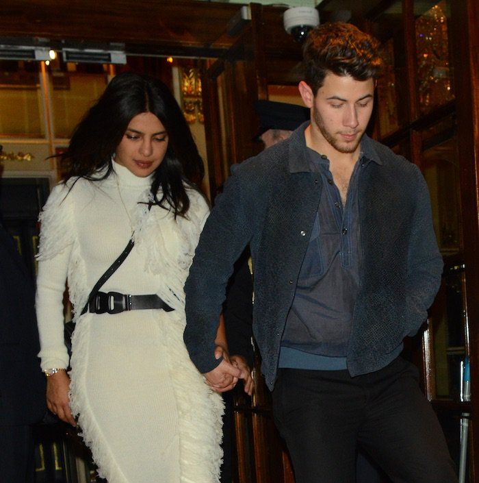 Priyanka Chopra and Nick Jonas out for date night in London on May 29, 2019