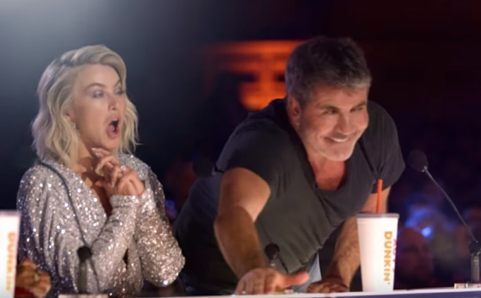Simon Cowell chooses his Golden Buzzer pick on America's Got Talent