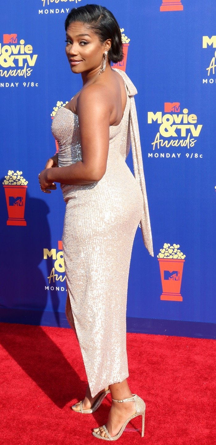 Tiffany Haddish did not impress in her ill-fitting dress