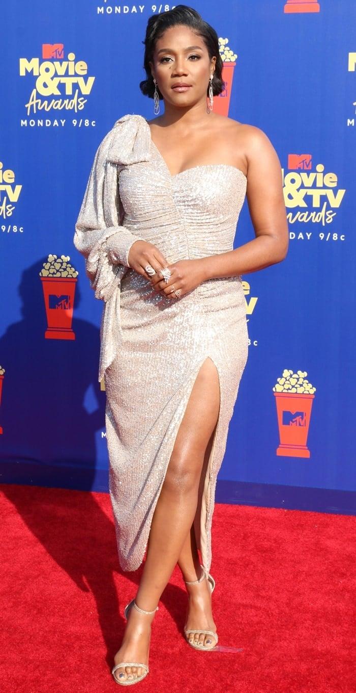 Tiffany Haddish at the 2019 MTV Movie & TV Awards