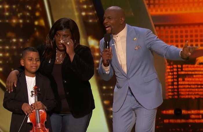Tyler Butler-Figueroa blew the judges away with his incredible violin playing