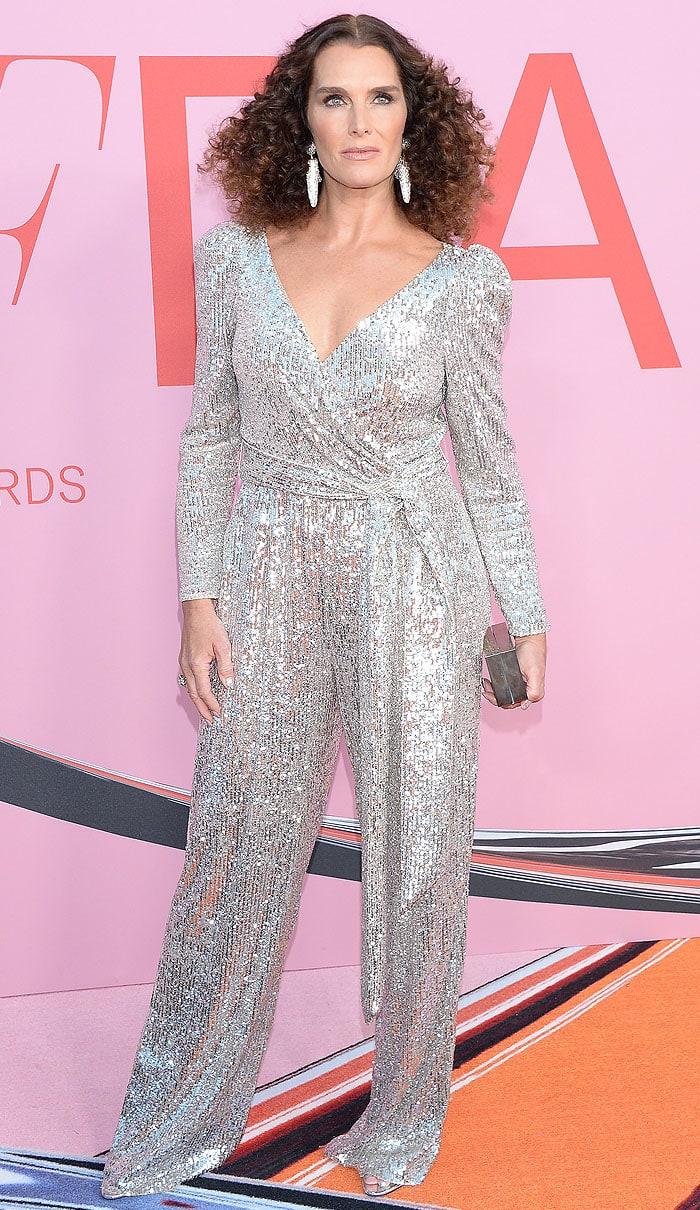 Brooke Shields at the 2019 CFDA Fashion Awards