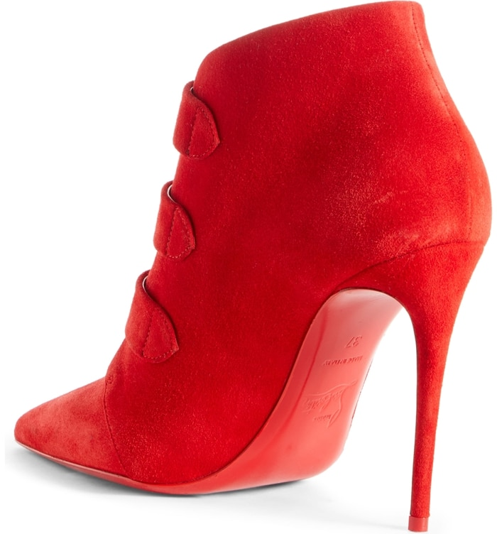 Loubi Red Triniboot Stiletto Booties