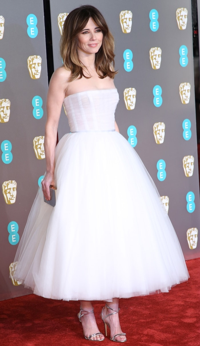 Linda Cardellini at the 2019 EE British Academy Film Awards at Royal Albert Hall in London, England, on February 10, 2019
