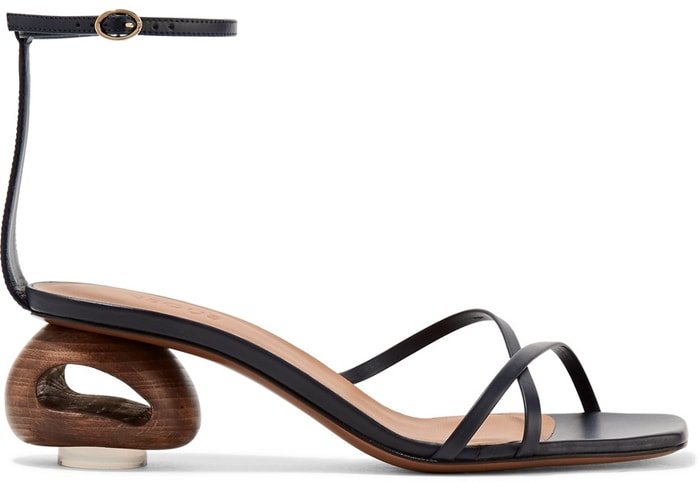 Wearing these sandals will make it look like you just stepped in dog poop