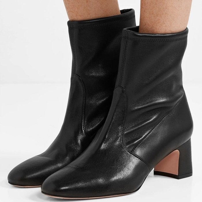 Sock boots are still very 'in', so now is as good a time as any to pick up a classic pair like Stuart Weitzman's 'Niki' version