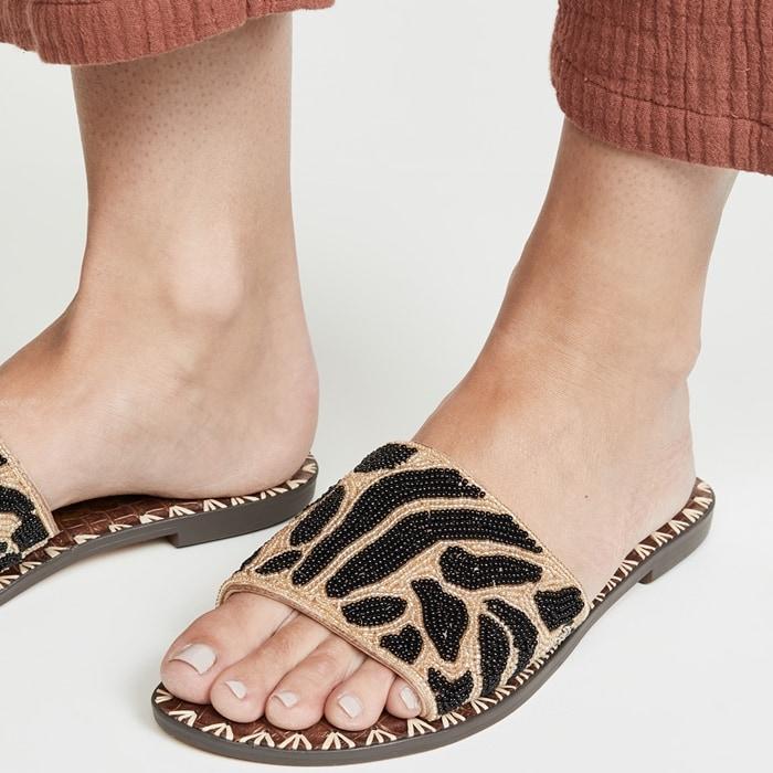 Women's Embellished Gunner Slide Sandals