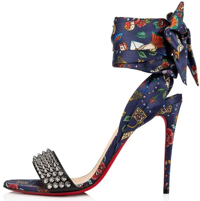Christian Louboutin's Sandale du Desert Spikes is the sensational result of when luxury sanadals meet tattoo design