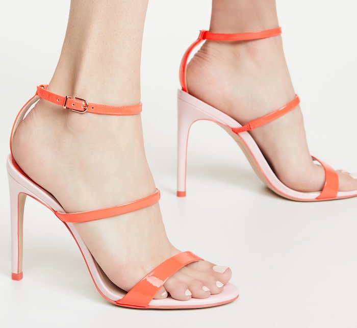 Sophia Webster triple strap Rosalind stiletto sandals