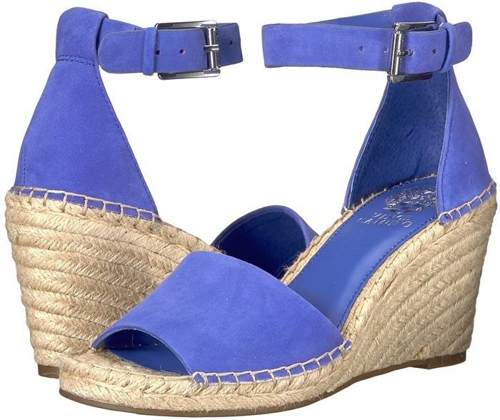 The Leera sandal flaunts a jute-braided wedge for the extra height you relish