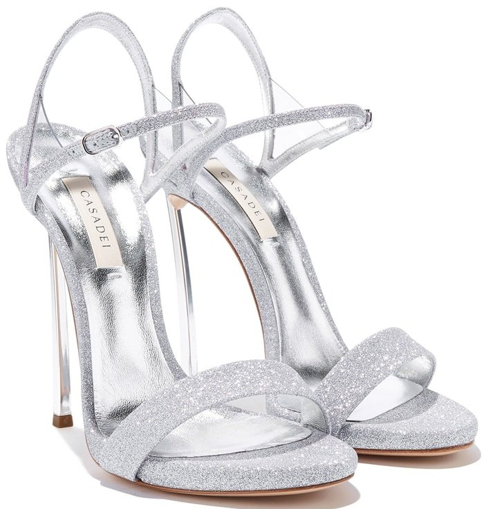 Shine like a star in these Blade V Celebrity sandals from Casadei