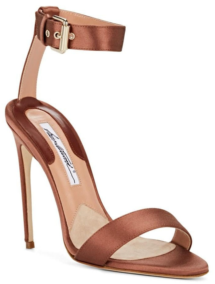 Brian Atwood Babe Buckled-Ankle-Strap Sandals