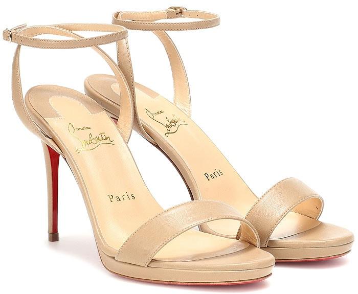 Christian Louboutin Loubi Queen sandals