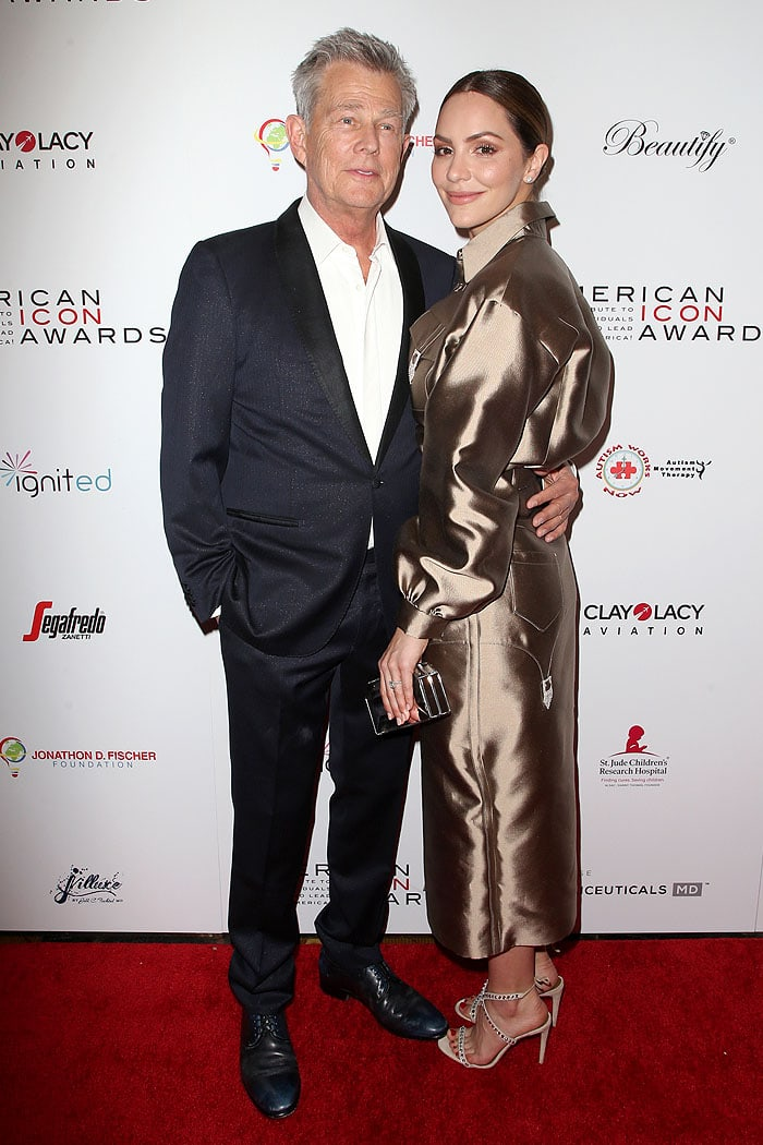 David Foster and Katharine McPhee Foster at the 2019 American Icon Awards